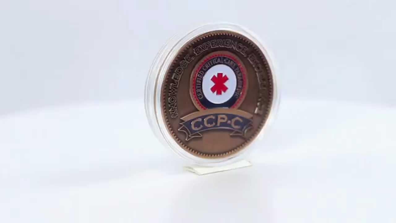 Emergencystuff Bcctcp Critical Care Transport Paramedic Coin