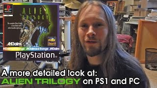 A more detailed look at Alien Trilogy on the PS1 and PC