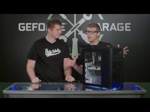 видео: geforce garage: как вырезать окно в корпусе ПК?