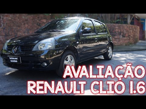 Avaliação Renault Clio 1.6 2007 - Excelente Opção Como Primeiro Carro