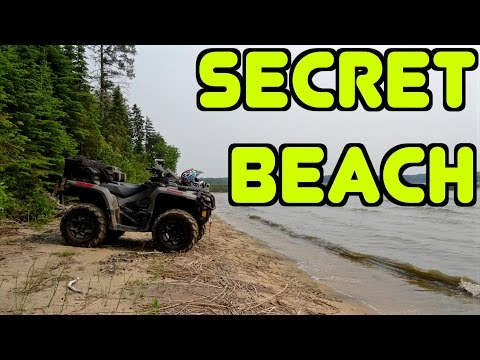A CUBBEEZX ATV Trail Ride - Return To Secret Beach - July 4, 2015