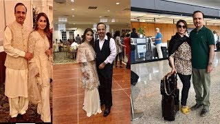 reema khan pictures with her son n husband in usa went viral