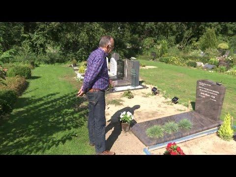 Konijnen teisteren begraafplaats