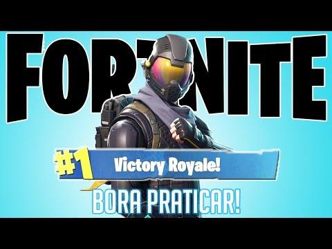 Fortnite - SKIN NOVA HEHE! RUMO A 100 WINS!