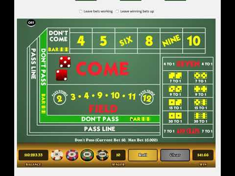 fibonacci betting system craps game