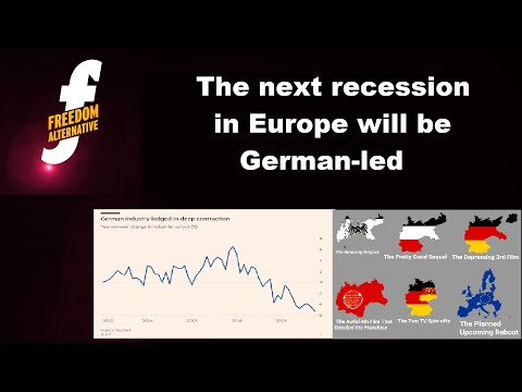 The next recession in Europe will be German-led