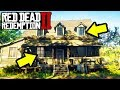 DO NOT VISIT THIS HOUSE in Red Dead Redemption 2! RDR2 Freeroam Secrets