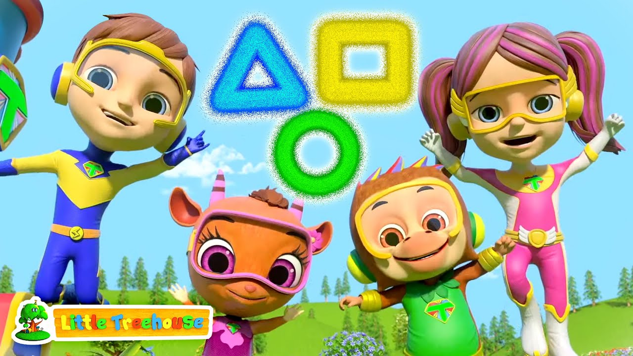 The Shapes Song   ABC Song   Colors Song   Learning Videos for Kids   Nursery Rhymes & Baby Songs