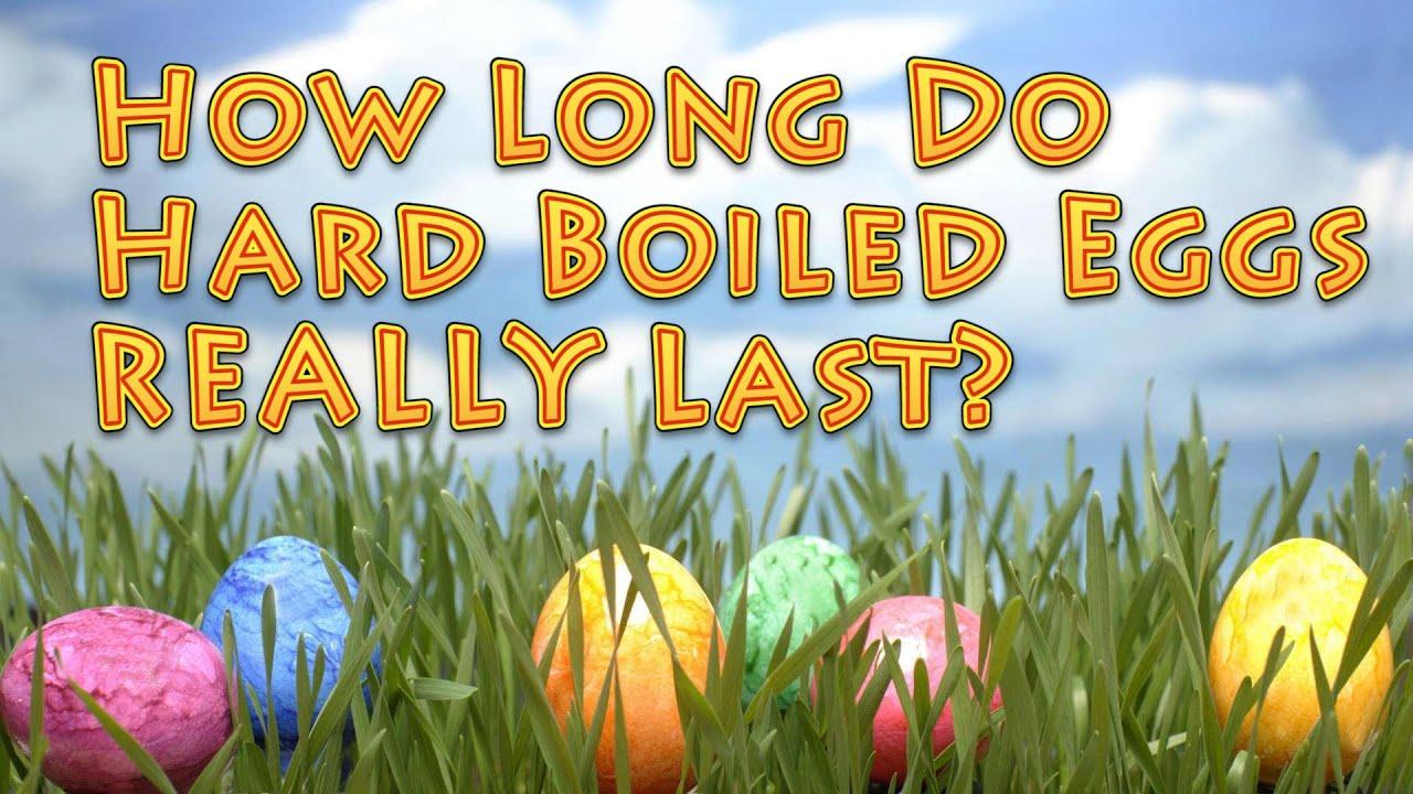 How long do hard boiled eggs last in fridge