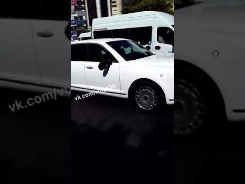 Астрахань. Авария с президентским Aurus
