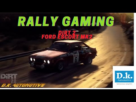 Ford Escort mk2 (Dirt Rally 2 Game) |