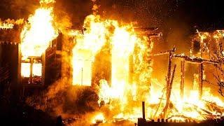 Очевидцы пожара в Ханты-Мансийске: было несколько взрывов газа