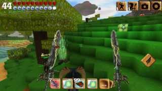 Riding dragons and other creatures in block story