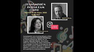 Conversación con el crítico musical y operístico Gerardo Kleinburg: 22 de mayo, 2020