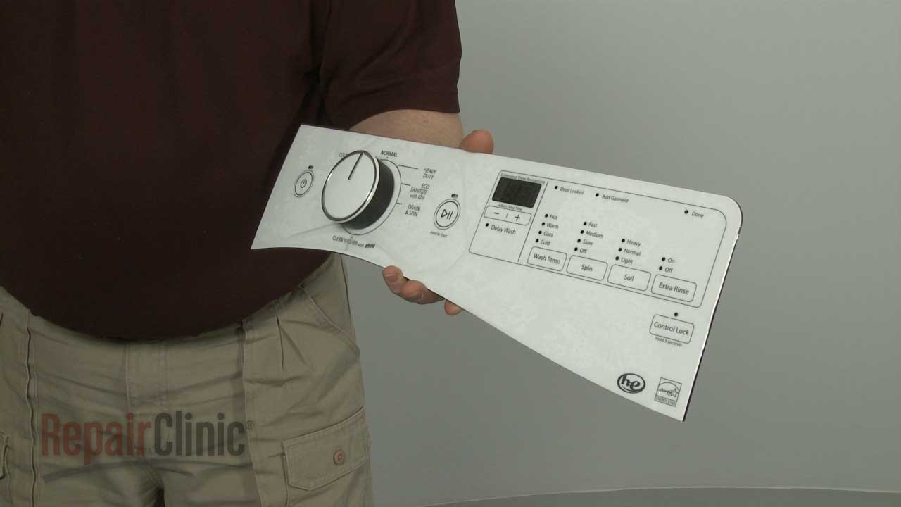 Whirlpool Front Load Washer Control Panel Assembly