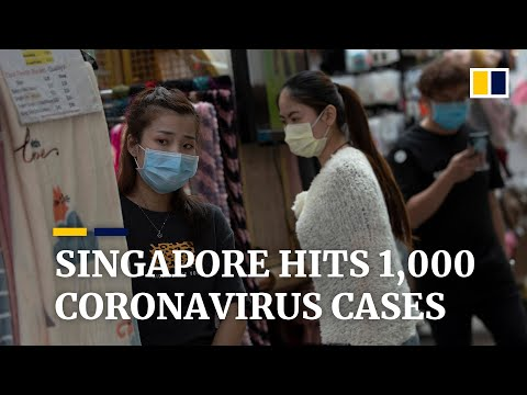 Singapore's Coronavirus Case Number Hits 1,000 After City State Reports Biggest Single-day Spike