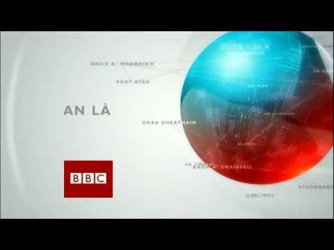 BBC Alba News - An Là (13 Jan 2009) Closing