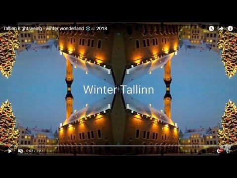 Tallinn sightseeing - winter wonderland ❄️🇪🇪 2018