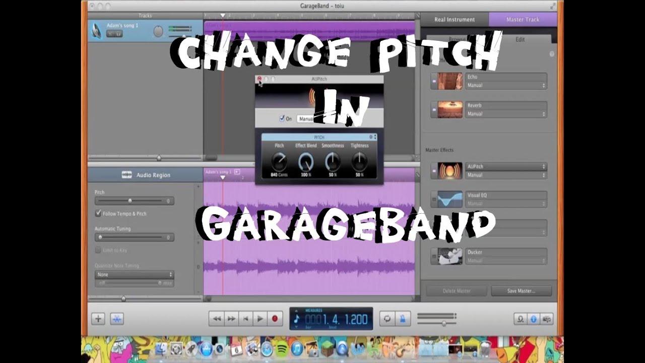 how to put youtube songs in garageband