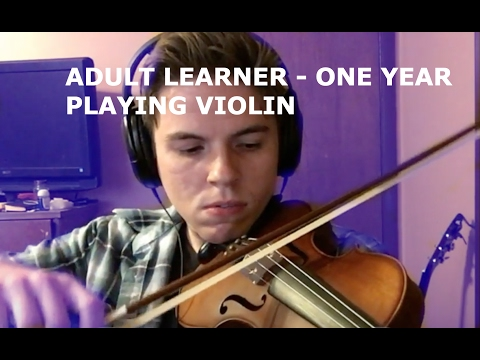 One Year Of Playing Violin - Progress Video