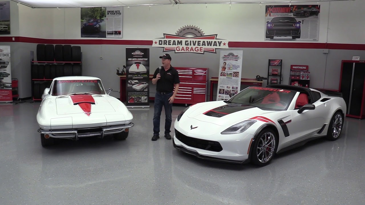 2018 Corvette Dream Giveaway Award Ceremony