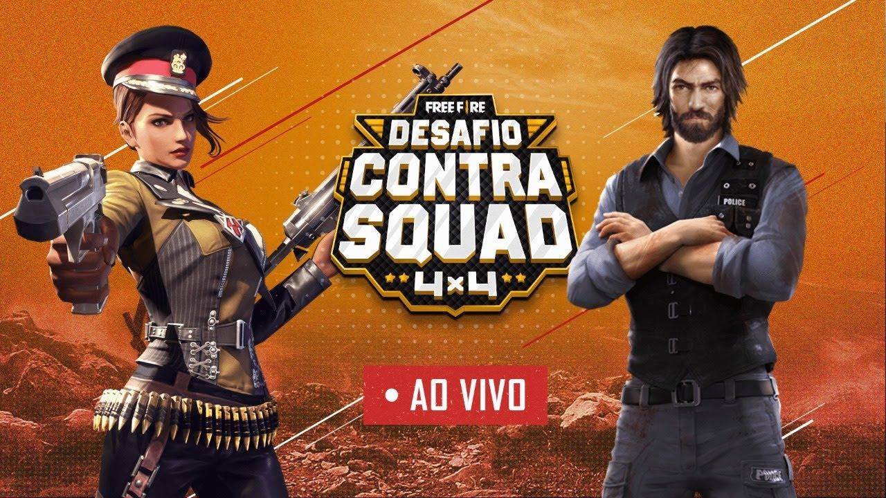Desafio Contra Squad | FINAL | Free Fire