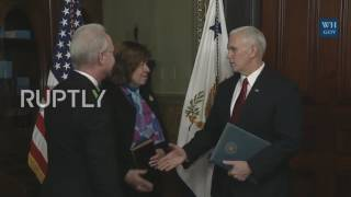 USA: Tom Price sworn-in as Trump's Health and Human Services secretary