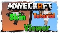 Minecraft Skin Viewer Tutorial // Skins anderer herunterladen uvm.