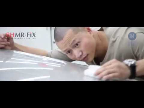 9h mr fix car nano ceramic coating how to use youtube. Black Bedroom Furniture Sets. Home Design Ideas