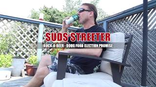 SUDS STREETER: Buck-a-beer almost here! Are you game?