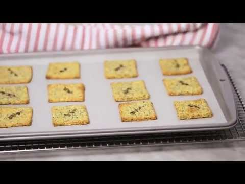 Recipe: Parmesan, Poppy & Sesame Seed Crackers