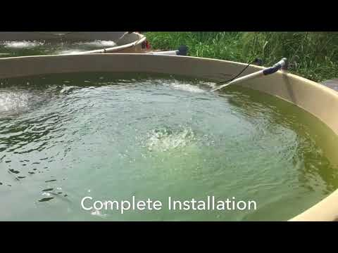 Recirculation Aquaculture System Setup