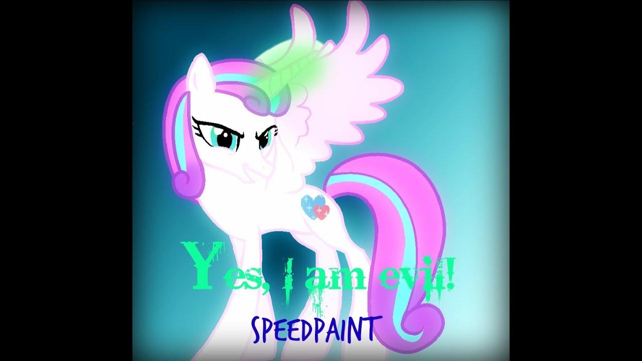 Speedpaint Yes I Am Evil Flurry Heart Read Desc