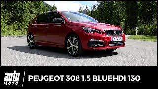 2017 Peugeot 308 [ESSAI] : que vaut le nouveau moteur diesel 1.5 BlueHDi 130 ?