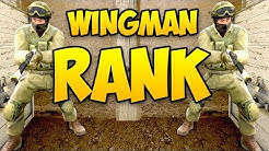 I GET MY WINGMAN RANK - AFTER THE 10 WINS! CSGO