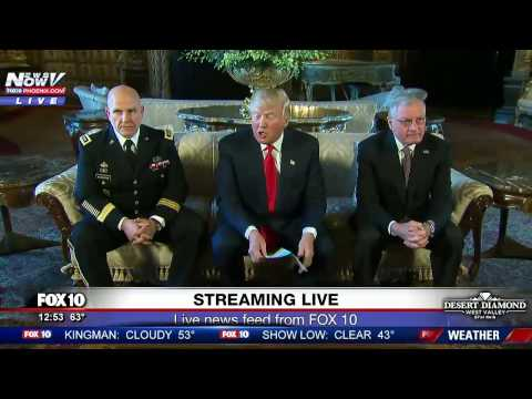 WATCH: President Trump Introduces New National Security Advisor To The Media (FNN)