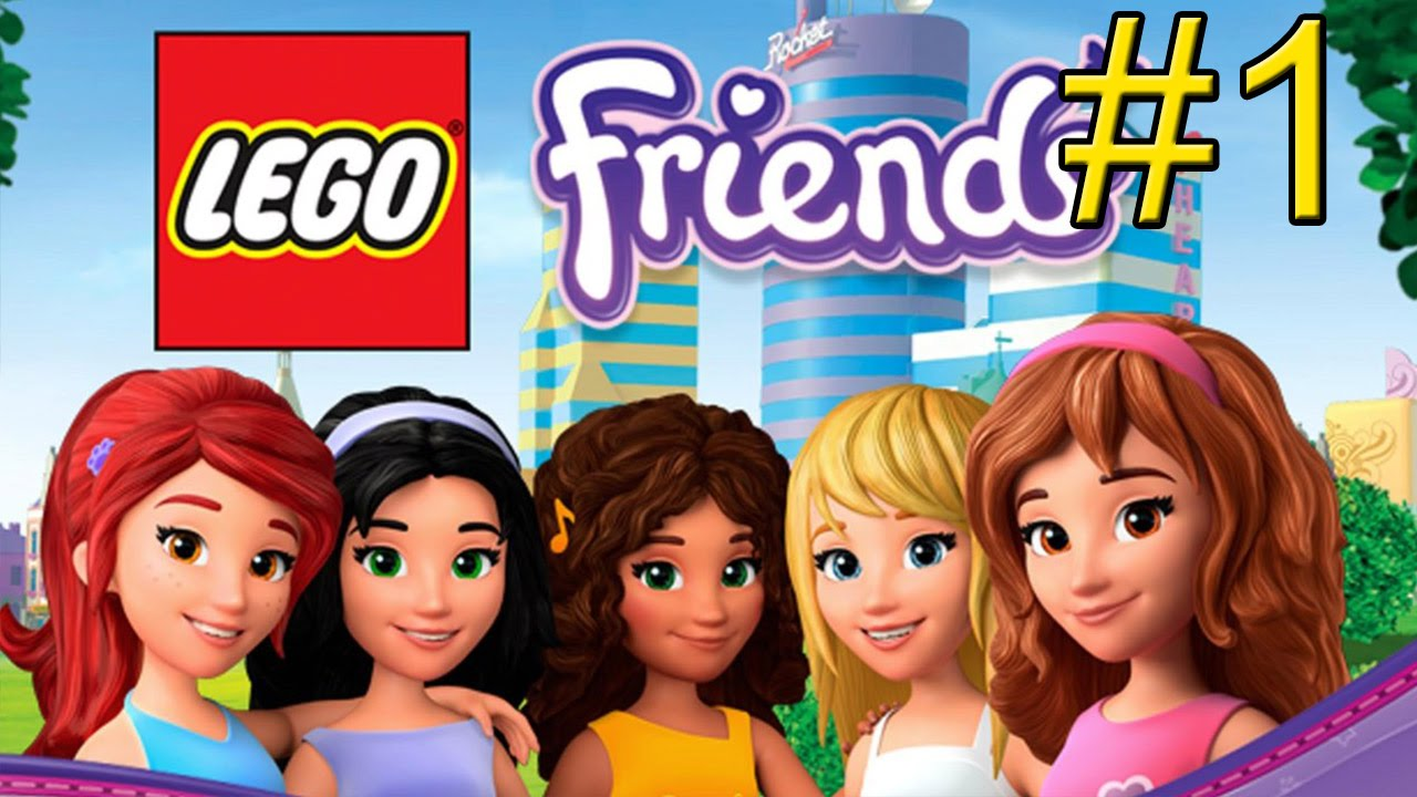 Lego Friends Part 1 Welcome To Heartlake City Hd Youtube