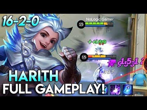New Hero Time Traveller - Harith Full Gameplay! | Mobile Legends - Gameplay | MLBB