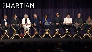 The Martian | Q&A with the Cast and Crew of The Martian [HD] | 20th Century FOX