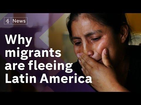 The Hondurans seeking a better life in US