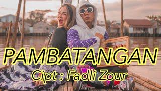 Lagu Banjar PAMBATANGAN Cipt Fadly Zour (cover PANDAZ & ADIEZ MOMO)