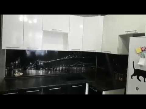 Кухонный гарнитур черно белый купить в Новосибирске