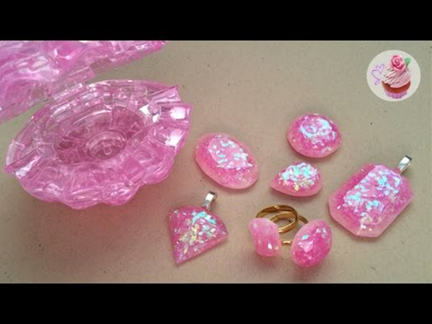 Pink gem jewellery /Breast Cancer Awareness Month ❀