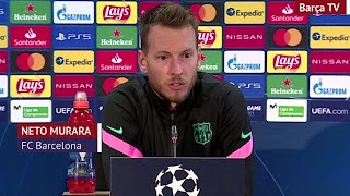 Barcelona | Rueda de prensa de Neto previa al Fenercvaros | Diario AS