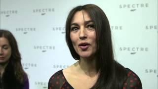 "Spectre: Monica Bellucci ""Lucia Sciarra"" Interview on the new James Bond Movie"
