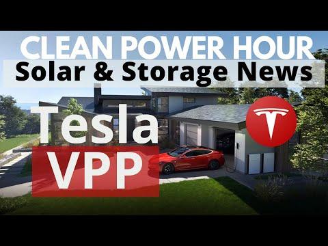 Tesla VPP | Solar Powered Beer | US Storage Market Growth | Clean Power Hour Ep.53