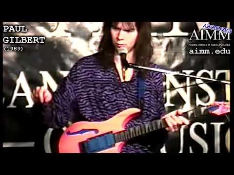AIMM Archives - Paul Gilbert (1989)