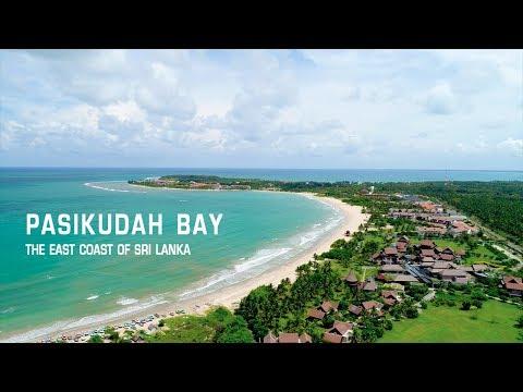 PASIKUDAH BAY and COASTLINE by Phantom 4 Drone