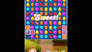 Candy Crush Friends Saga Level 124 - NO BOOSTERS 👩👧👦 | SKILLGAMING ✔️