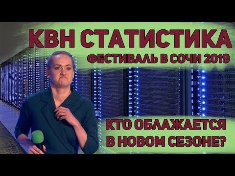 КВН статистика. Фестиваль Сочи 2019